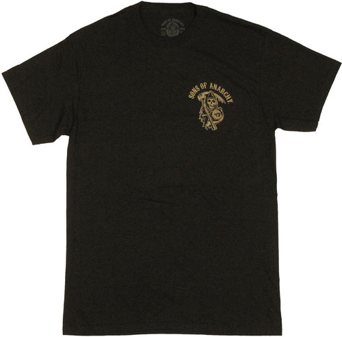 Sons Of Anarchy Pocket Logo T Shirt