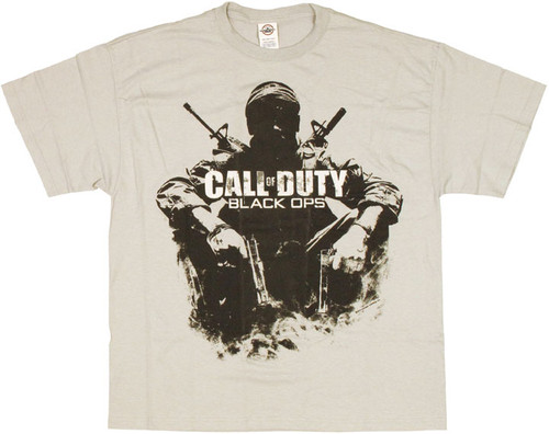 Call of Duty Black Ops Sit T Shirt