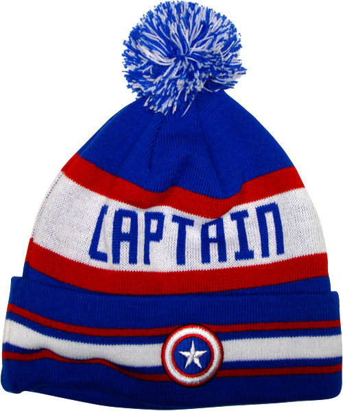Captain America Name Beanie
