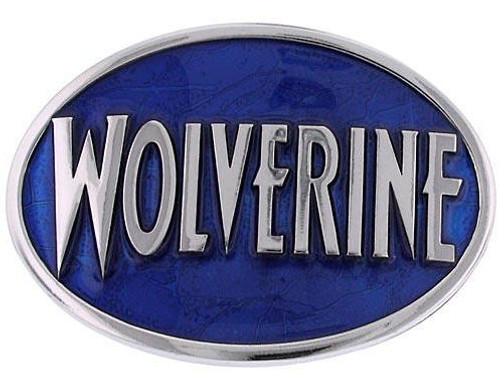 X Men Wolverine Name Oval Belt Buckle