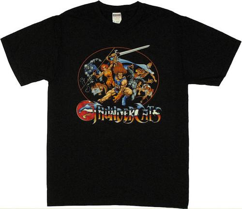 Thundercats Oval Group T Shirt