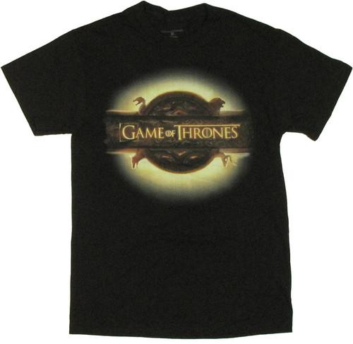 Game of Thrones Logo T Shirt