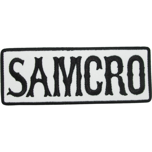 Sons Of Anarchy SAMCRO Patch