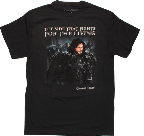 Game of Thrones Fights for Living T Shirt