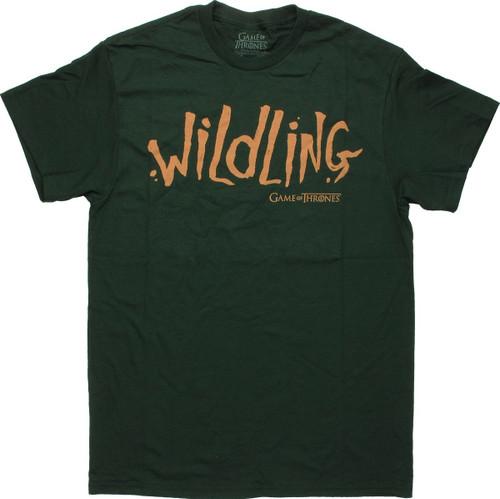 Game of Thrones Wildling T Shirt