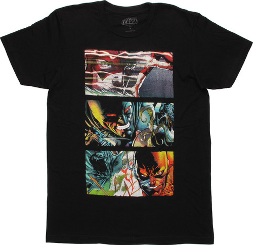 Justice League Flashpoint Images T Shirt Sheer