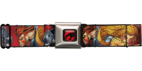 Thundercats Heroes Sunburst Seatbelt Mesh Belt