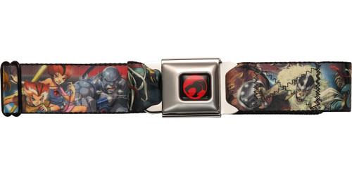 Thundercats Heroes and Villains Seatbelt Mesh Belt