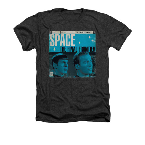 Star Trek Final Frontier Cover Heather T Shirt