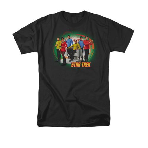 Star Trek Enterprises Finest T Shirt
