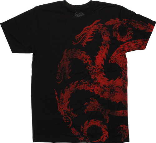 Game of Thrones Targaryen Insignia T-Shirt Sheer