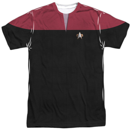 Star Trek Voyager Command Sublimated T Shirt