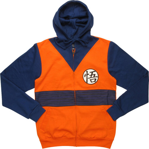 Dragon Ball Z Goku Outfit Costume Hoodie