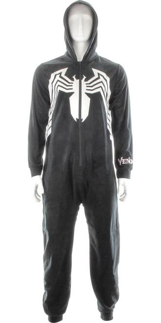 Venom Costume Hooded Union Suit