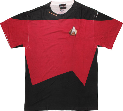Star Trek TNG Command FB Sublimated T-Shirt