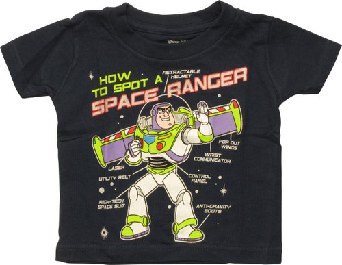Toy Story Buzz Space Ranger Infant T Shirt