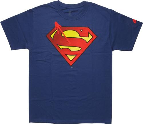 Superman Watchmen Symbol Logo T Shirt