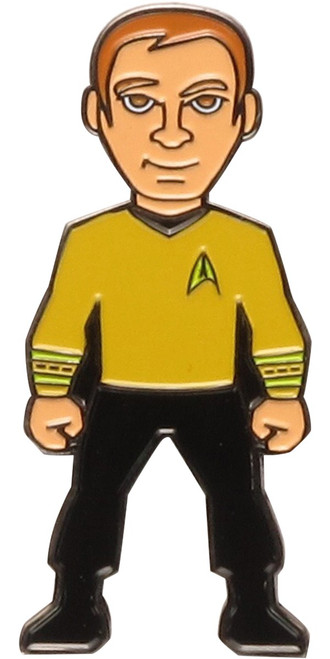 Star Trek 50th Anniversary Captain Kirk Pin