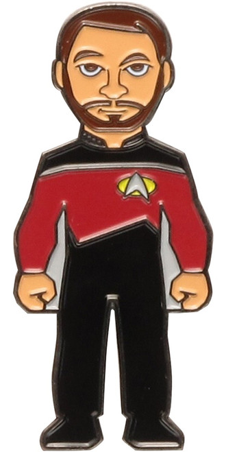 Star Trek Next Generation William Riker Pin