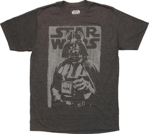 Star Wars Darth Vader Uncle Sam Pose T-Shirt Sheer