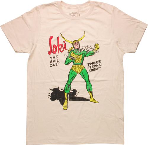Thor Eternal Enemy Loki Breaking Loose T-Shirt