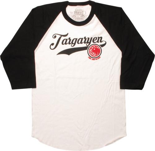 Game of Thrones Targaryen Raglan T-Shirt