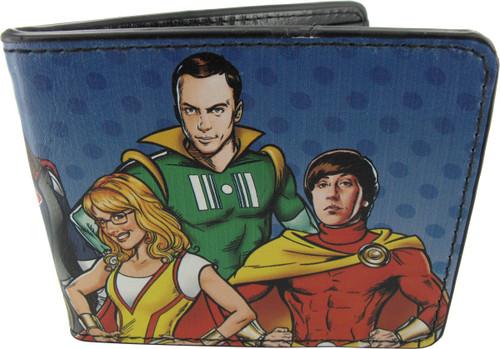 Big Bang Theory Superhero Group Wallet