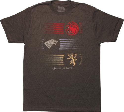 Game of Thrones Insignia Trio T-Shirt