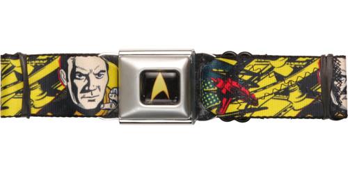 Star Trek Captain Kirk Phaser Seatbelt Belt