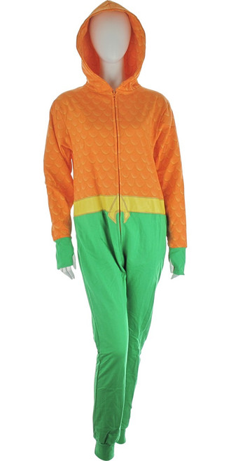 Aquaman Hooded Costume Union Suit