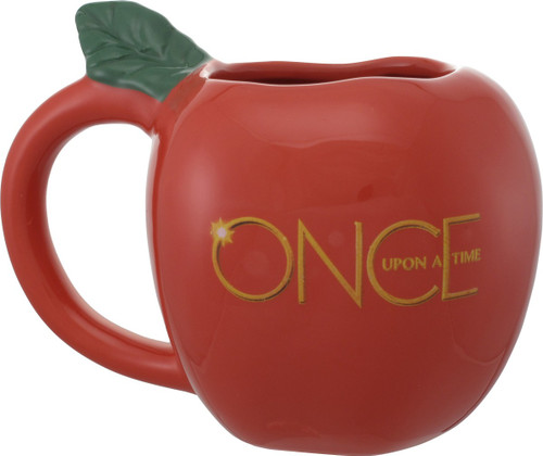 Once Upon a Time Apple Sculpted Mug
