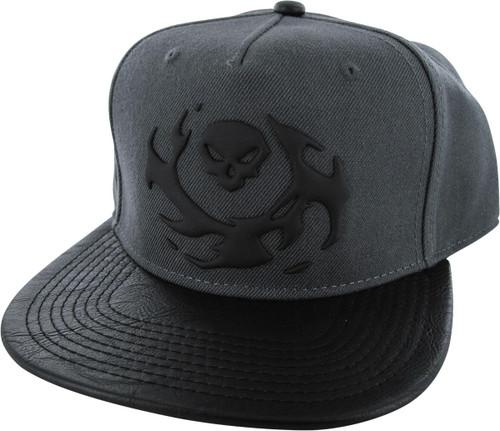 Overwatch Reaper Icon Snapback Hat