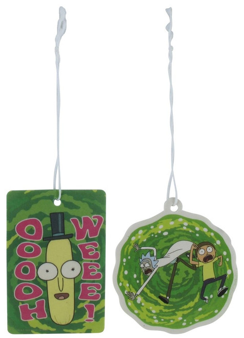 Rick and Morty Ooh Wee Portal 2 Pack Air Freshener