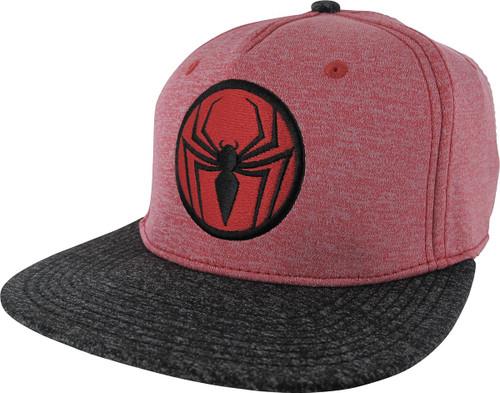 Spiderman Logo Two Tone Cationic Snapback Hat