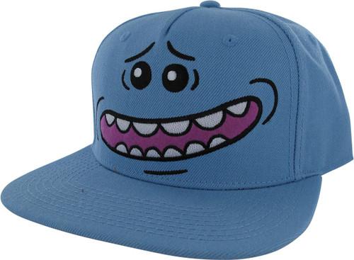 Rick and Morty Mr Meeseeks Big Face Snapback Hat