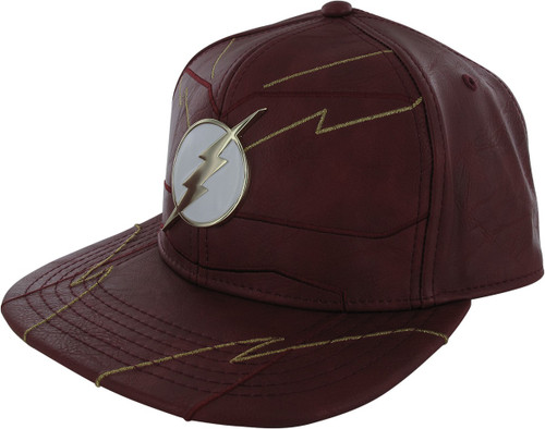 Flash Rebirth Suit Up Metal Badge Snapback Hat