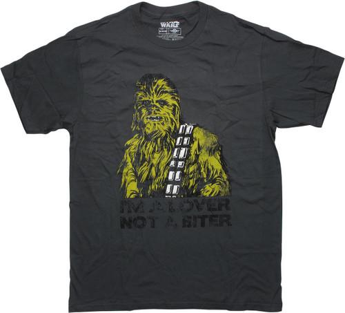 Star Wars Chewbacca Lover Not a Biter T-Shirt