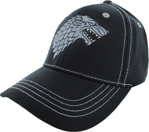 Game of Thrones Stark Winter is Here Buckle Hat