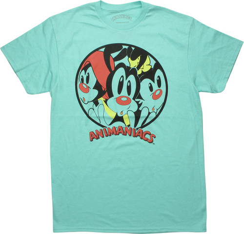 Animaniacs Trapped Characters Celador Blue T-Shirt