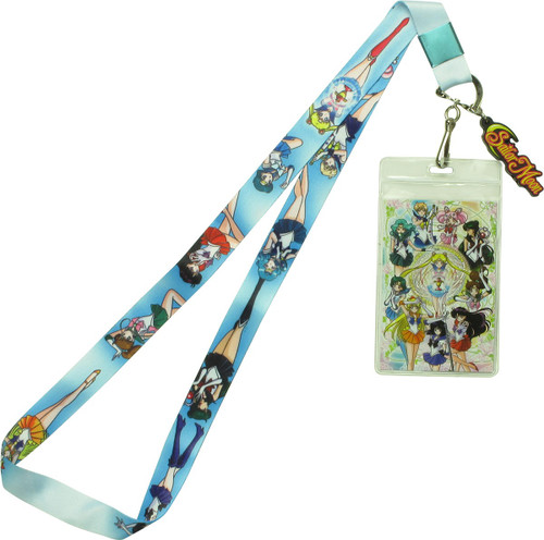 Sailor Moon Soldiers Line-Up Lanyard