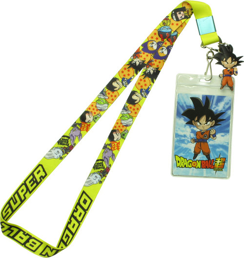 Dragon Ball Super SD Group Yellow Lanyard