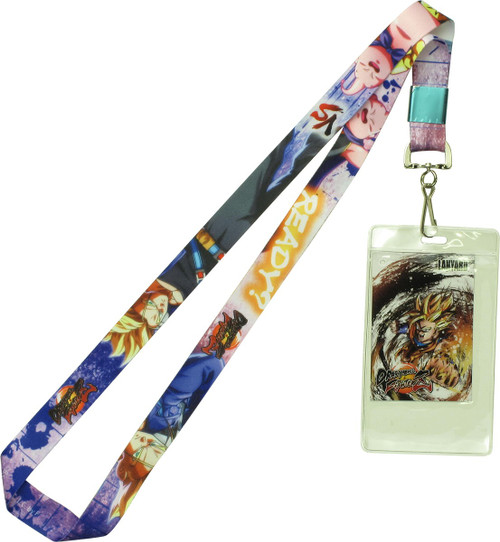 Dragon Ball FighterZ Trunks Vs. Majin Buu Lanyard
