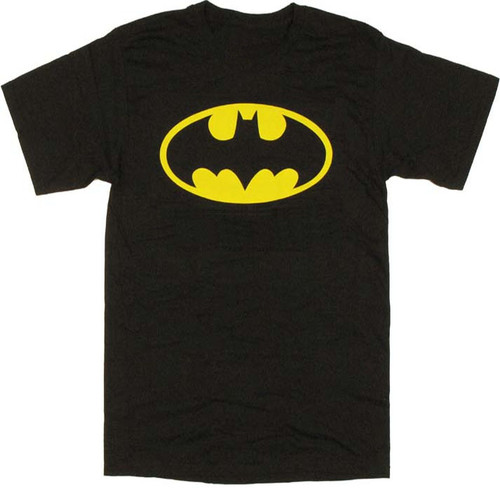 Batman Oval Logo T-Shirt