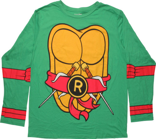 sc 1 st  Stylin Online & Ninja Turtles Raphael Costume MF LS T-Shirt