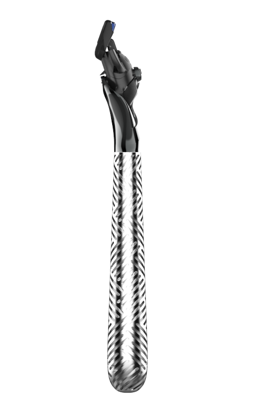 Aztec in Chrome Handle, View 2
