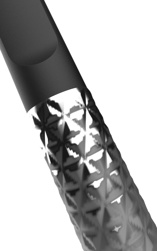 Tessellate in Chrome. Handle, View 3