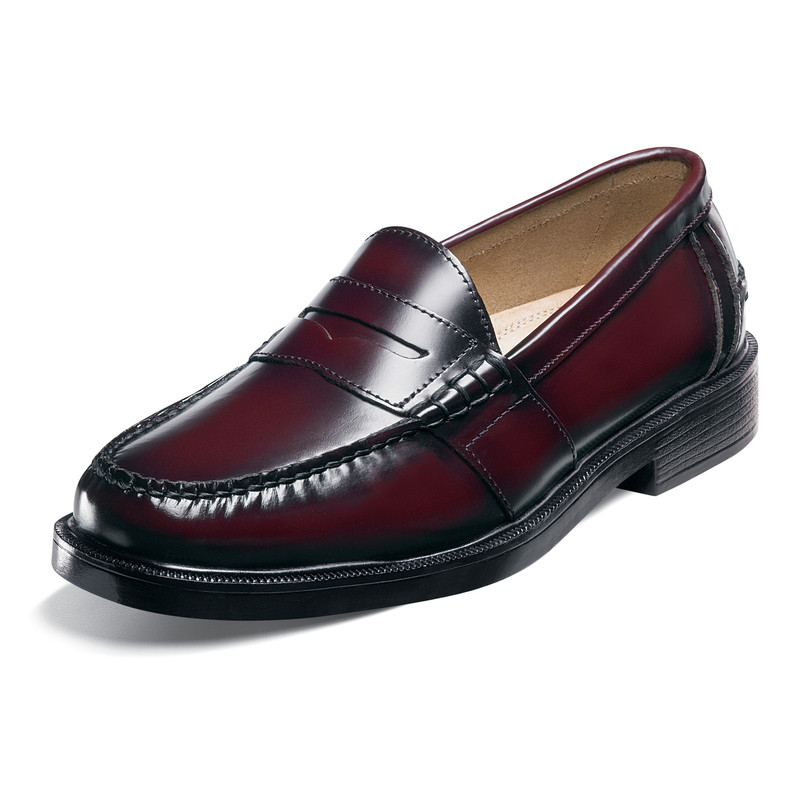 Nunn Bush Men's Lincoln loafer - Burgundy