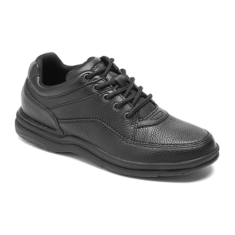 Rockport Men's World Tour - Black Leather