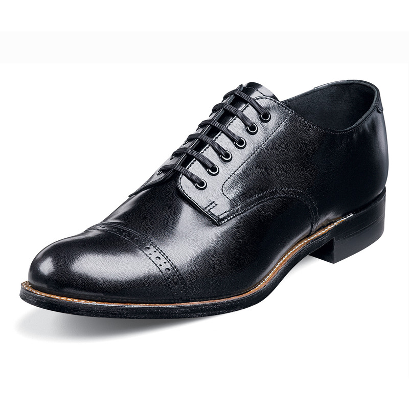 Stacy Adams Men's Madison Cap Toe Oxford - Black