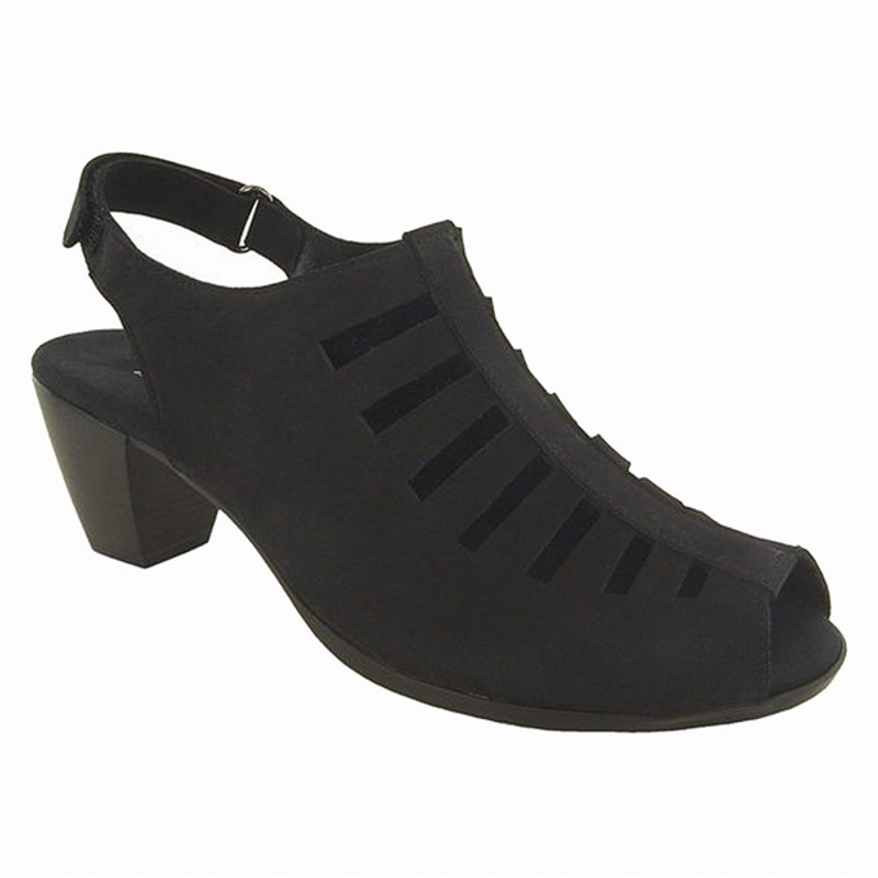 Munro Women's Abby - Black Nubuck